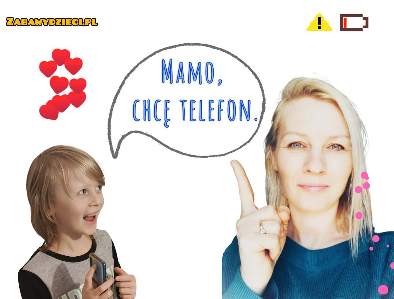 moje dziecko chce telefon