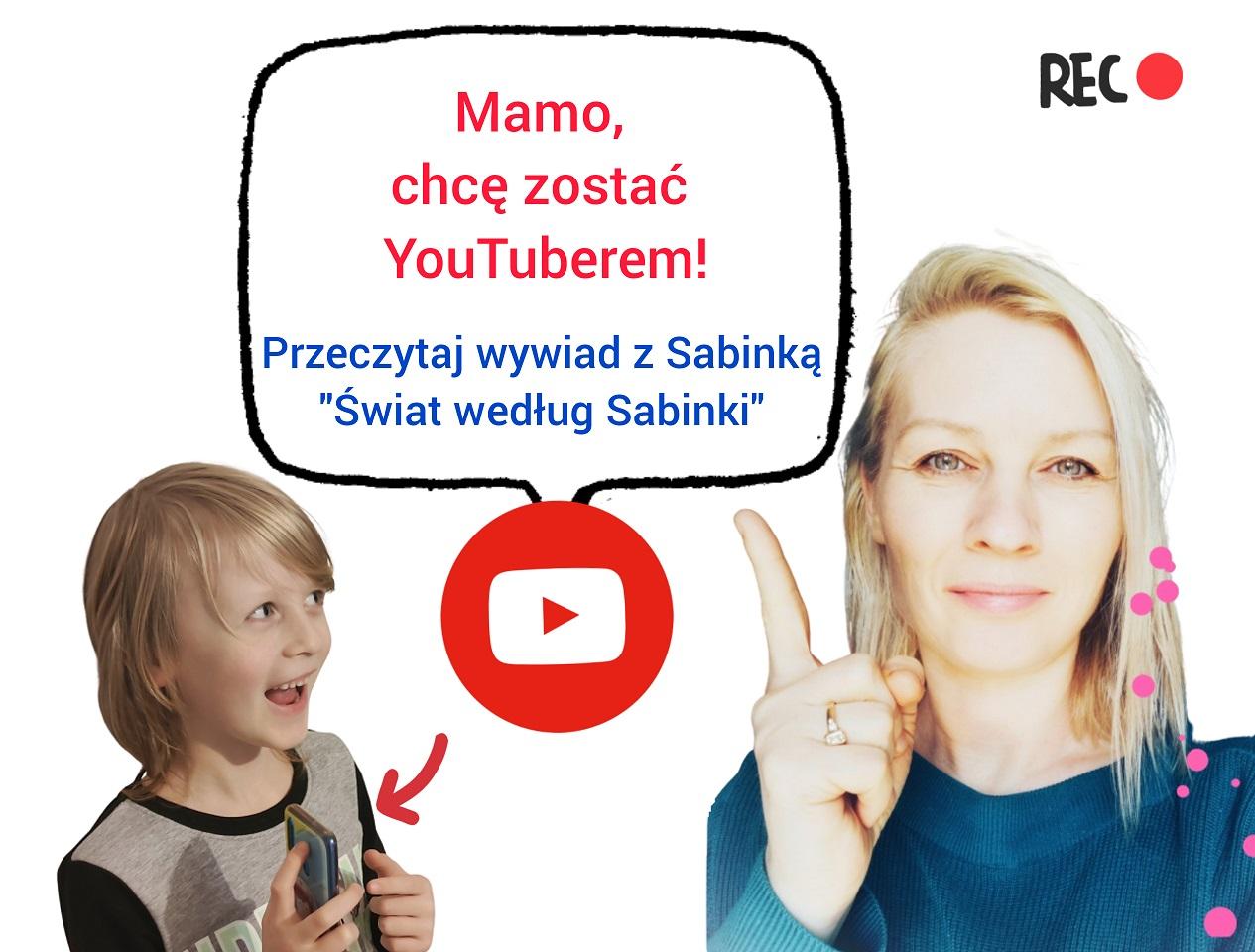 moje dziecko chce zostać youtuberem